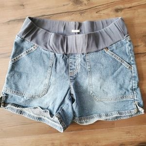 Old Navy Maternity Jean Shorts